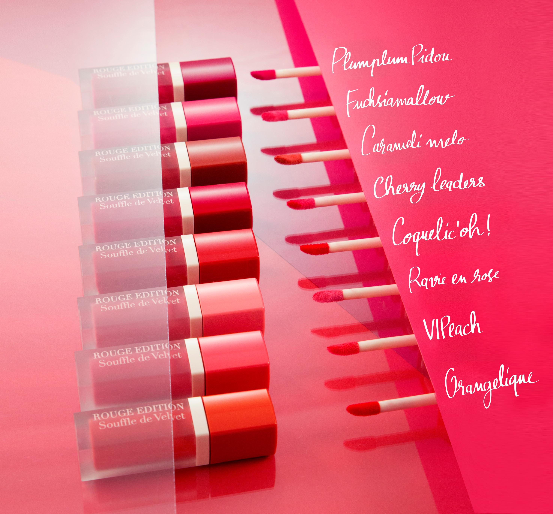 Bourjois Rouge Edition Souffle De Velvet Liquid Lipstick 7 Plum Plum