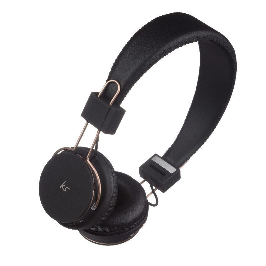 KitSound Manhattan Bluetooth Over-Ear Headphones with