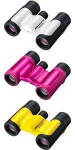 Nikon Aculon W10 10x21 Binocular - White: Amazon.co.uk