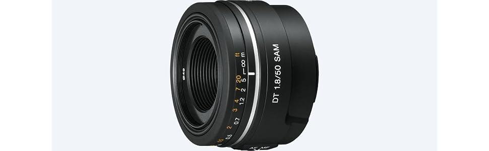 Sony, DT 50mm AF f/1.8 SAM, SAL-50F18, Camera Lens