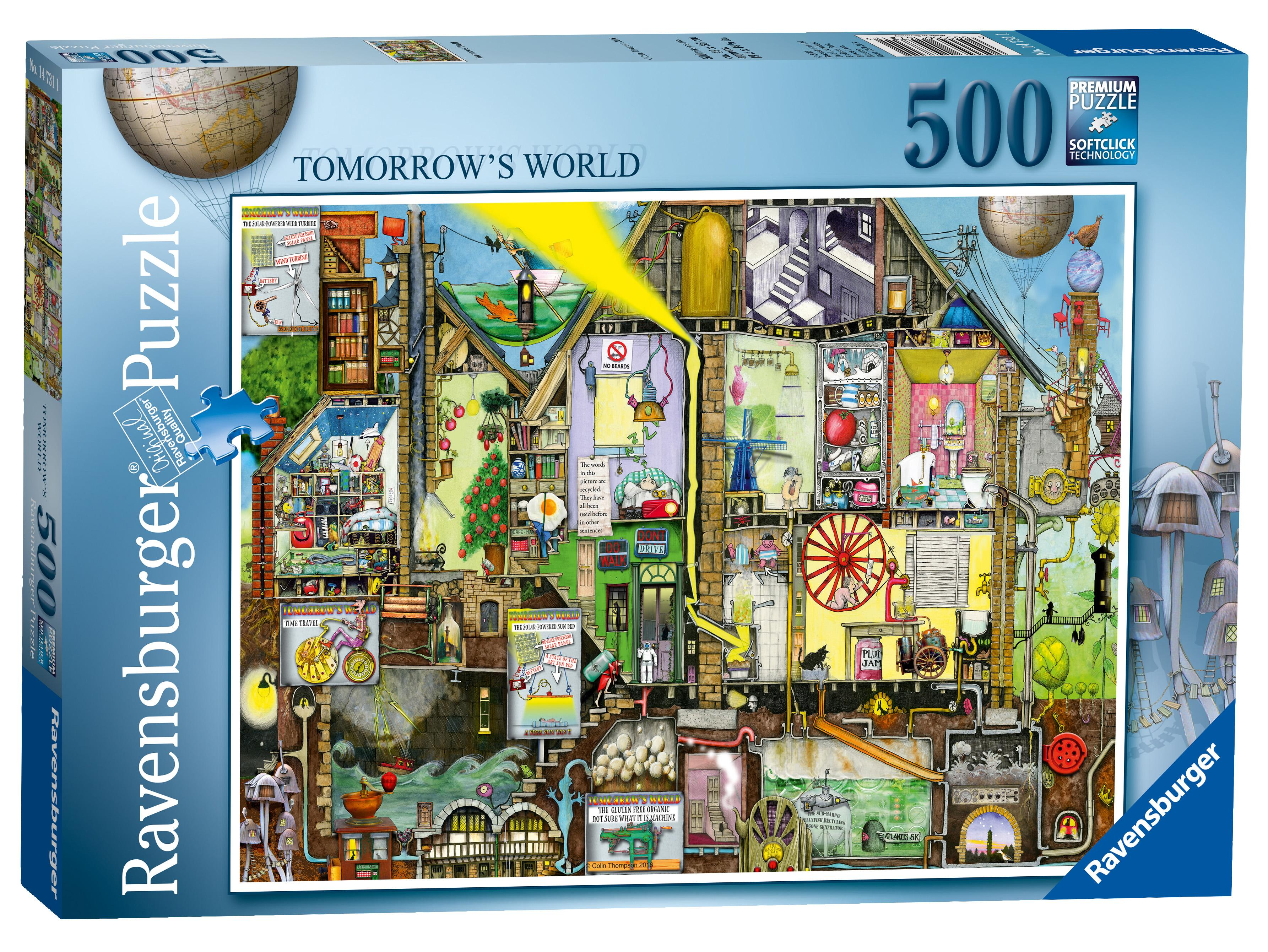 ravensburger my first puzzle on safari 2 3 4 5pc. Black Bedroom Furniture Sets. Home Design Ideas