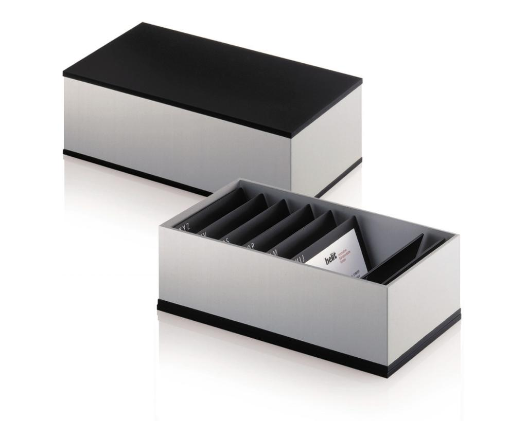 Helit by Foster Business Card Box Amazon fice