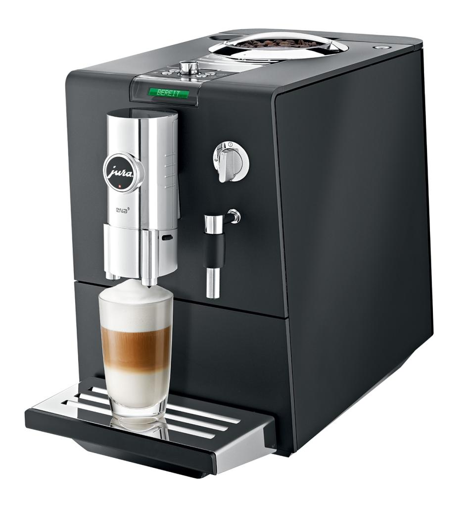 jura ena 9 one touch aroma coffee machine black amazon. Black Bedroom Furniture Sets. Home Design Ideas