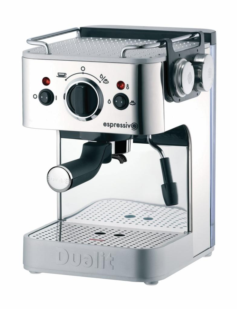 Dualit 3-in-1 Espressivo Coffee Machine, 1.5 Litre, 1250 ...