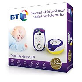bt 300 digital baby monitor baby. Black Bedroom Furniture Sets. Home Design Ideas