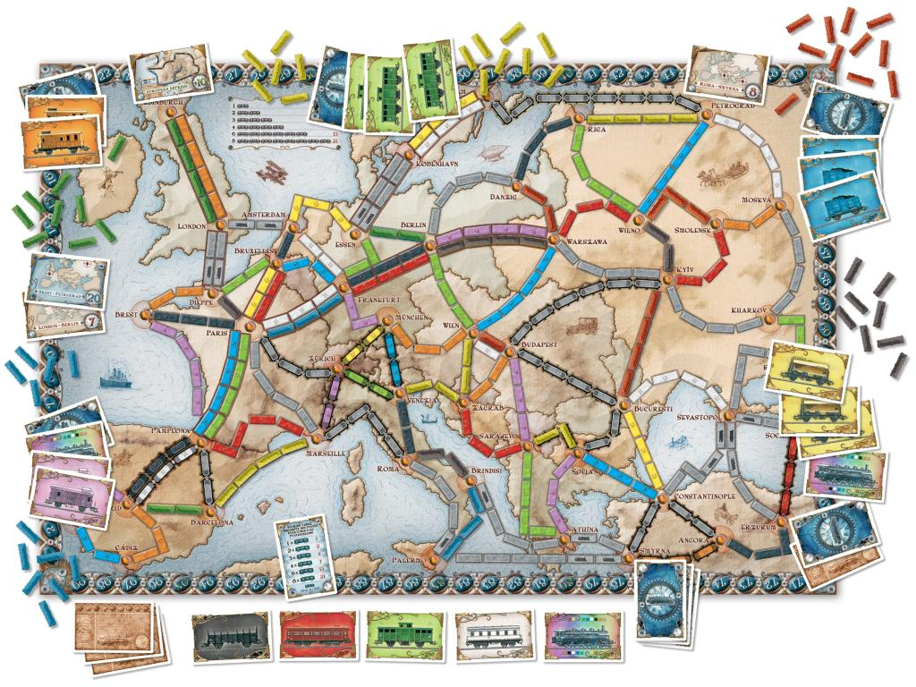 song ticket to ride cub tracks has a ticket to ride bleed cubbie  ticket to ride europe game amazon co uk toys games view larger