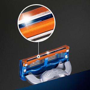 Gillette Fusion razor blades precision trimmer zoom