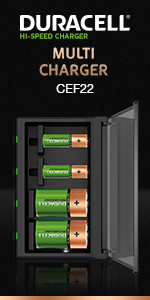 Duracell Multi Charger CEF 22