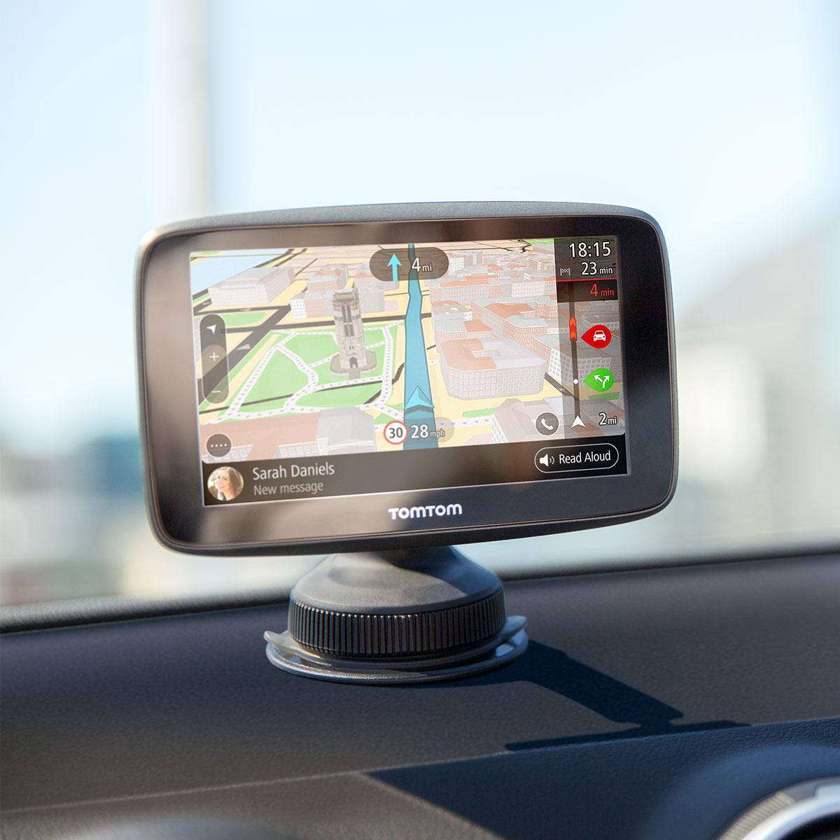 Tomtom Go 5200 With Wifi Lifetime World Maps Traffic
