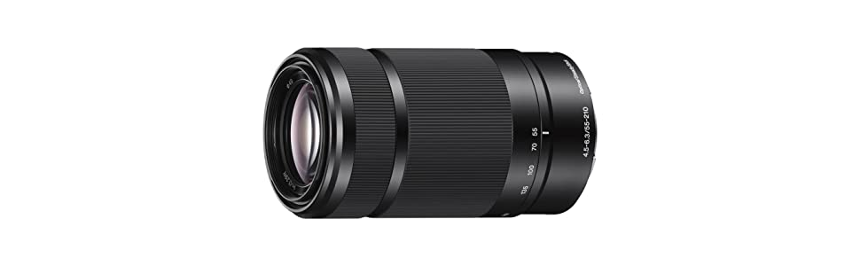 Sony, High Zoom, 55-210mm, E-Mount Lens, SEL55210, SEL55210B