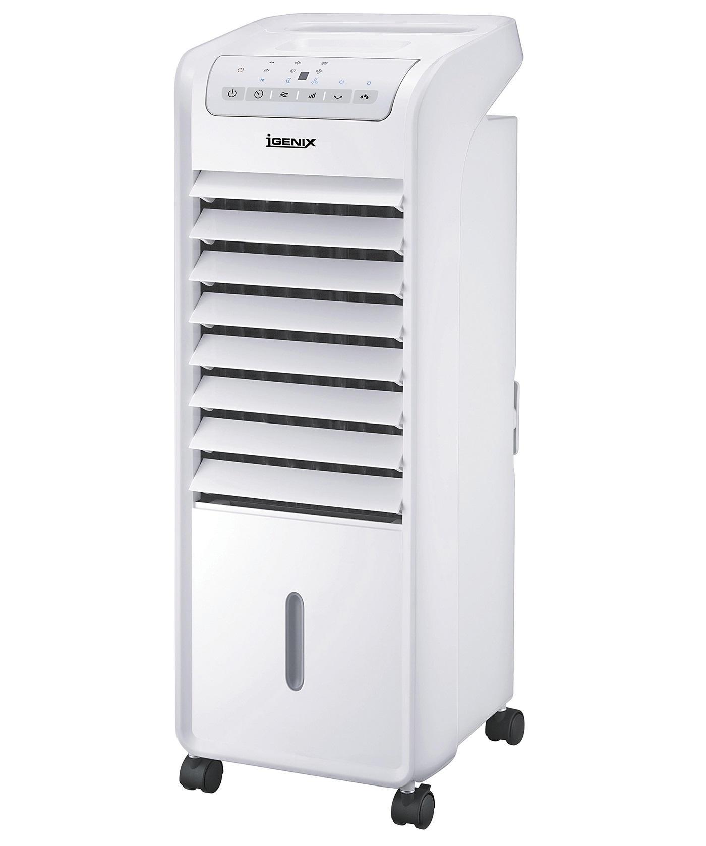 igenix ig9703 air cooler with led display 55 w white. Black Bedroom Furniture Sets. Home Design Ideas