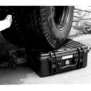 Vanguard Supreme Cases can withstand up to 120kg of external weight