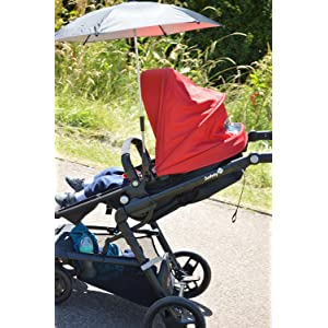 safety 1st kokoon pushchair black red baby. Black Bedroom Furniture Sets. Home Design Ideas
