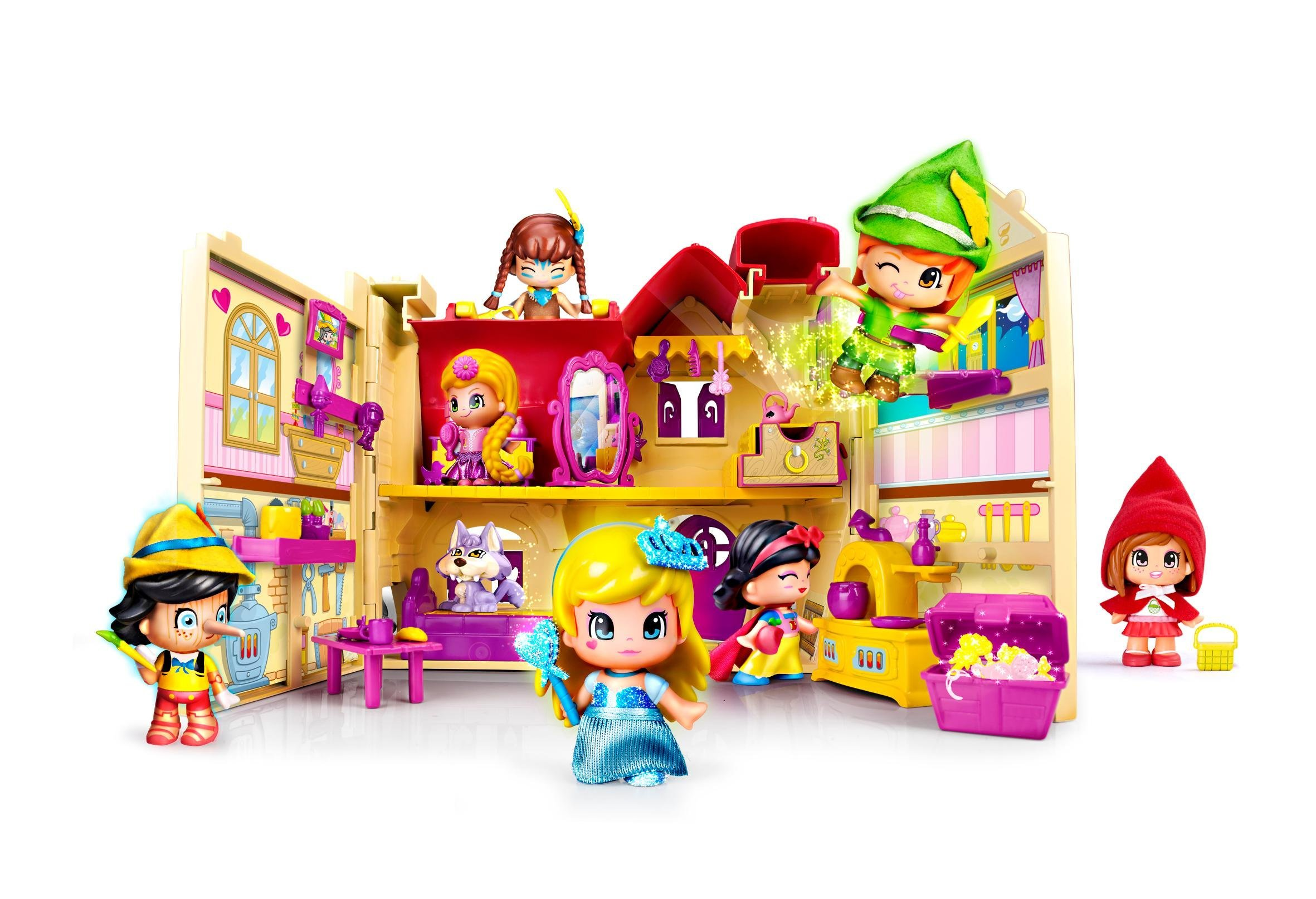 Pinypon tales house playset toys games for Amazon casa