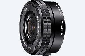Sony, SELP1650, Alpha NEX Series Power Zoom Lens, 16-50mm F3.5-5.6 OSS, Camera Lens
