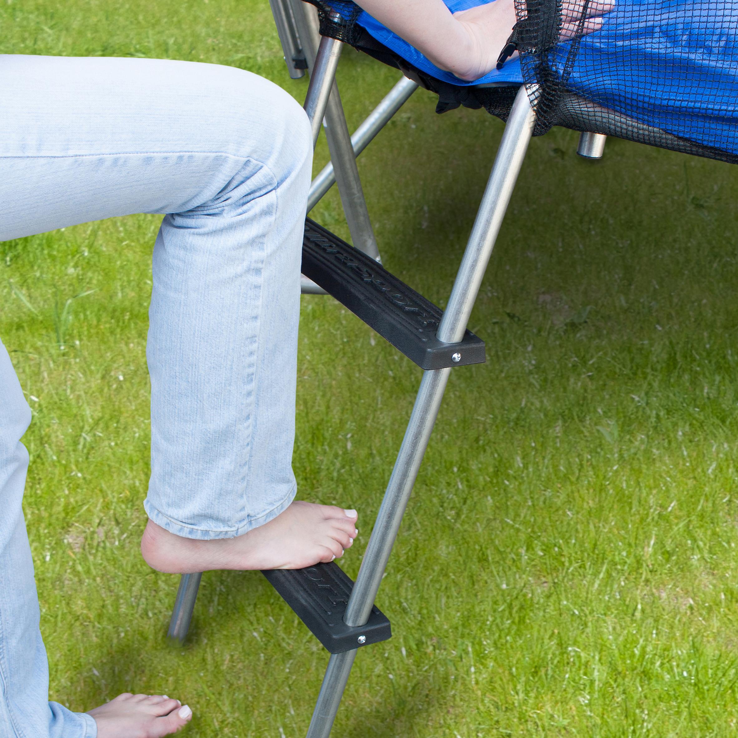 ultrasport trampoline ladder with plastic steps sports outdoors. Black Bedroom Furniture Sets. Home Design Ideas
