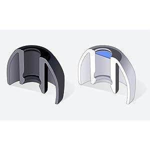 waterproof earbuds, changeable earbuds