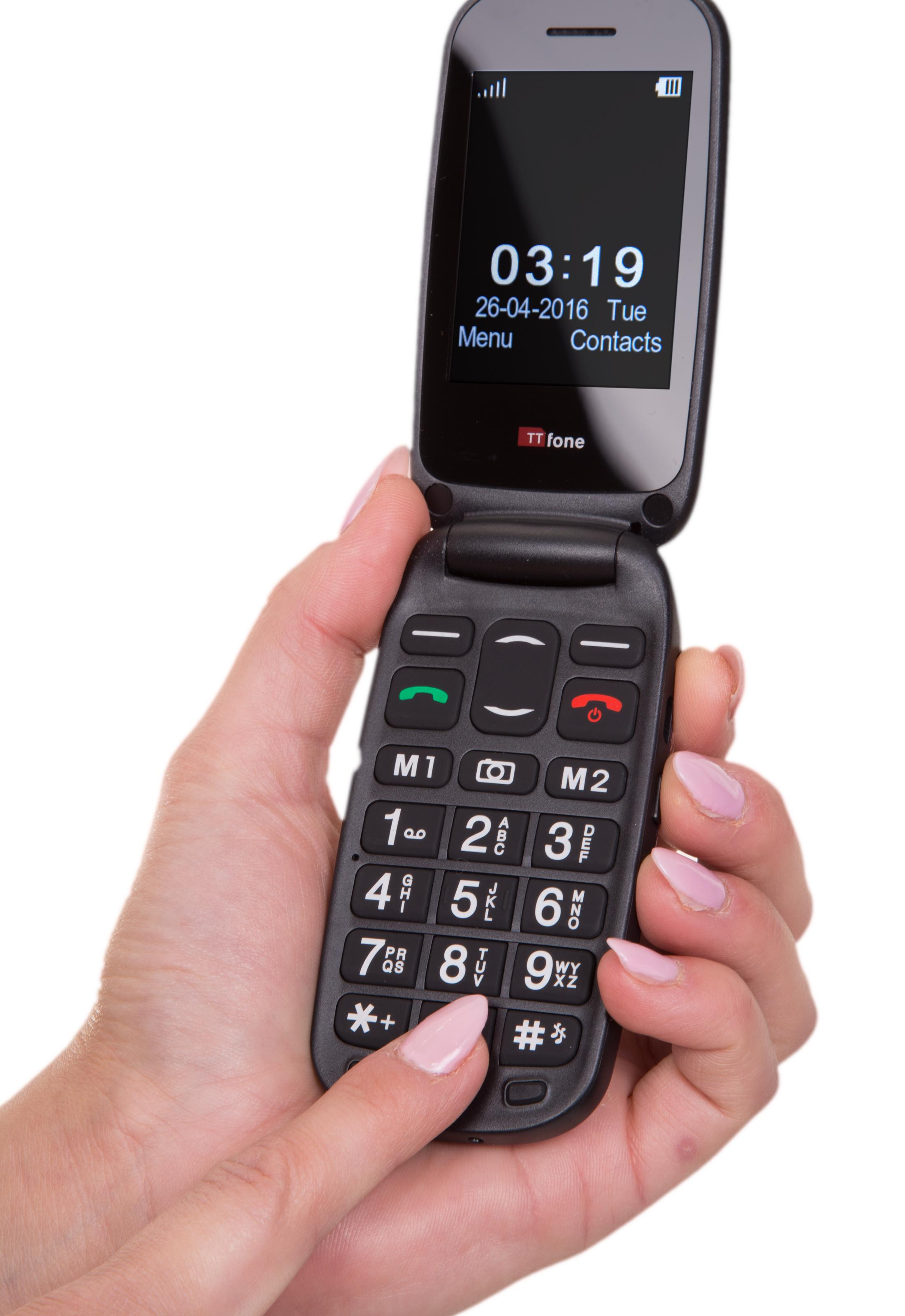 Your rights large display cell phones for seniors will