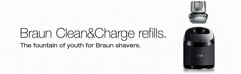 Braun Clean and Renew Refill Catridges