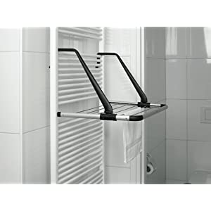 brabantia radiator clothes airer and hanging drying rack. Black Bedroom Furniture Sets. Home Design Ideas