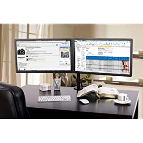 Monitor Mount, double monitor stand, dual Display stand, screen arm