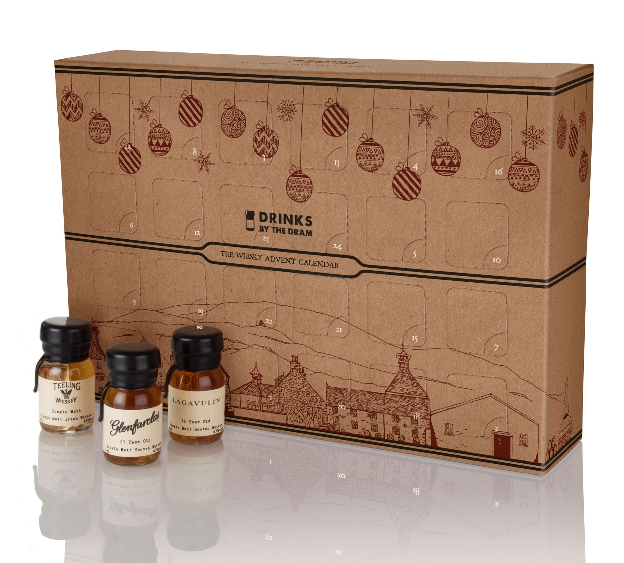 Drinks By The Dram The Whisky Advent Calendar 2016