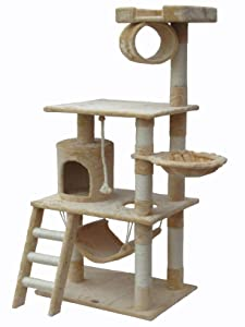 Cat tree tower condo furniture scratcher