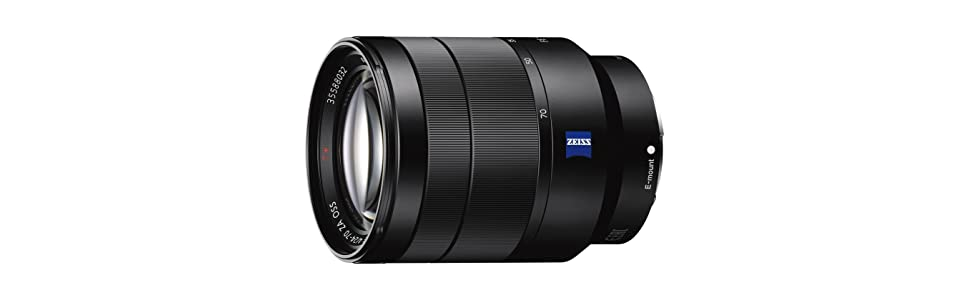Sony, 24-70mm f/4 Zeiss Lens, E Mount NEX Series, Zeiss