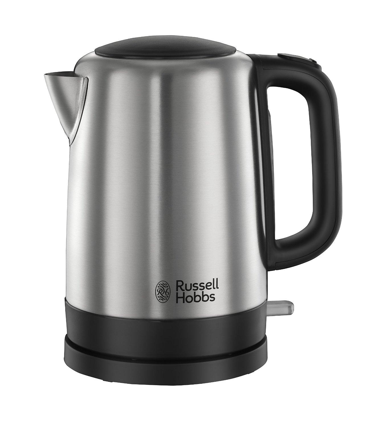 russell hobbs canterbury kettle 20610 1 7 l 3000 w brushed stainless steel silver. Black Bedroom Furniture Sets. Home Design Ideas