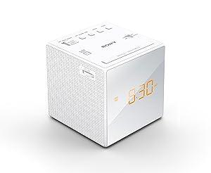 Sony, radio cu ceas cu alarmă duală FM / AM, ochelari de finisare