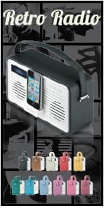 stereo, compact, kitchen, alarm clock, radio, DAB, FM, kitchen radio, ipod dock