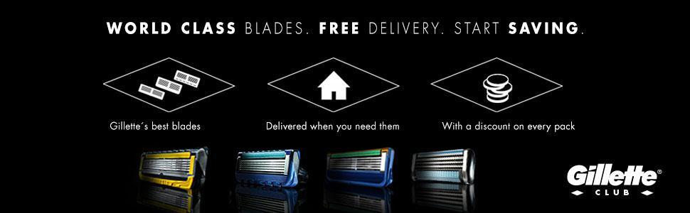Gillette ProGlide Power Razor Blades Gillette Club