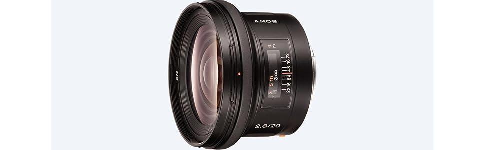 Sony SAL20F28 A Mount - Full Frame 20mm F2.8 Prime: Amazon.co.uk ...
