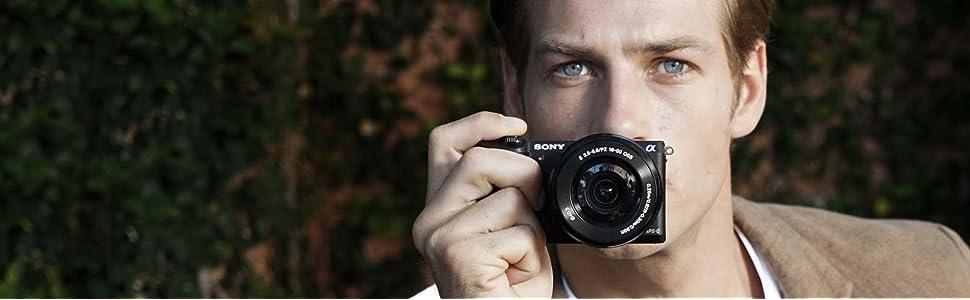 Sony, ilce5100, 24.3mo, interchangeable lens camera, 16-50 lens