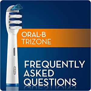 Oral-B Trizone Electric Toothbrush Replacement Heads 4 pack