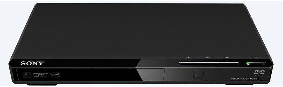 Sony, DVD player, DVP-SR170, playback, tv