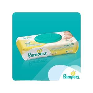 pampers premium protection new baby sensitive nappies wipes