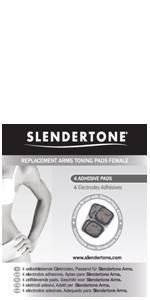 Genuine Slendertone Female Arm Tricep toning replacement gel pads