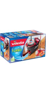 vileda easy wring and clean turbo microfibre mop and. Black Bedroom Furniture Sets. Home Design Ideas
