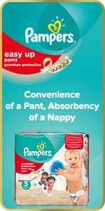 pampers easy up nappies