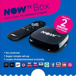 now tv box, sky tv box, two day sport pass, 2 day sport pass