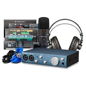 presonus itwo studio audio interface recording bundle musical instruments. Black Bedroom Furniture Sets. Home Design Ideas