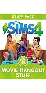 Movie Hangout Stuff, Sims 4