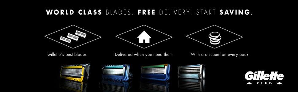 Gillette Fusion Power Men S Razor Blades 8 Blades
