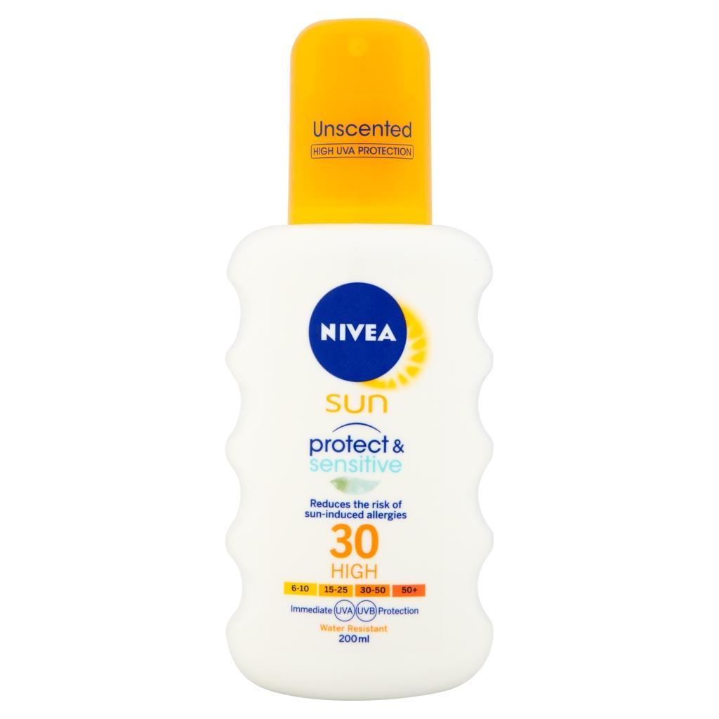 nivea immediate sun protection