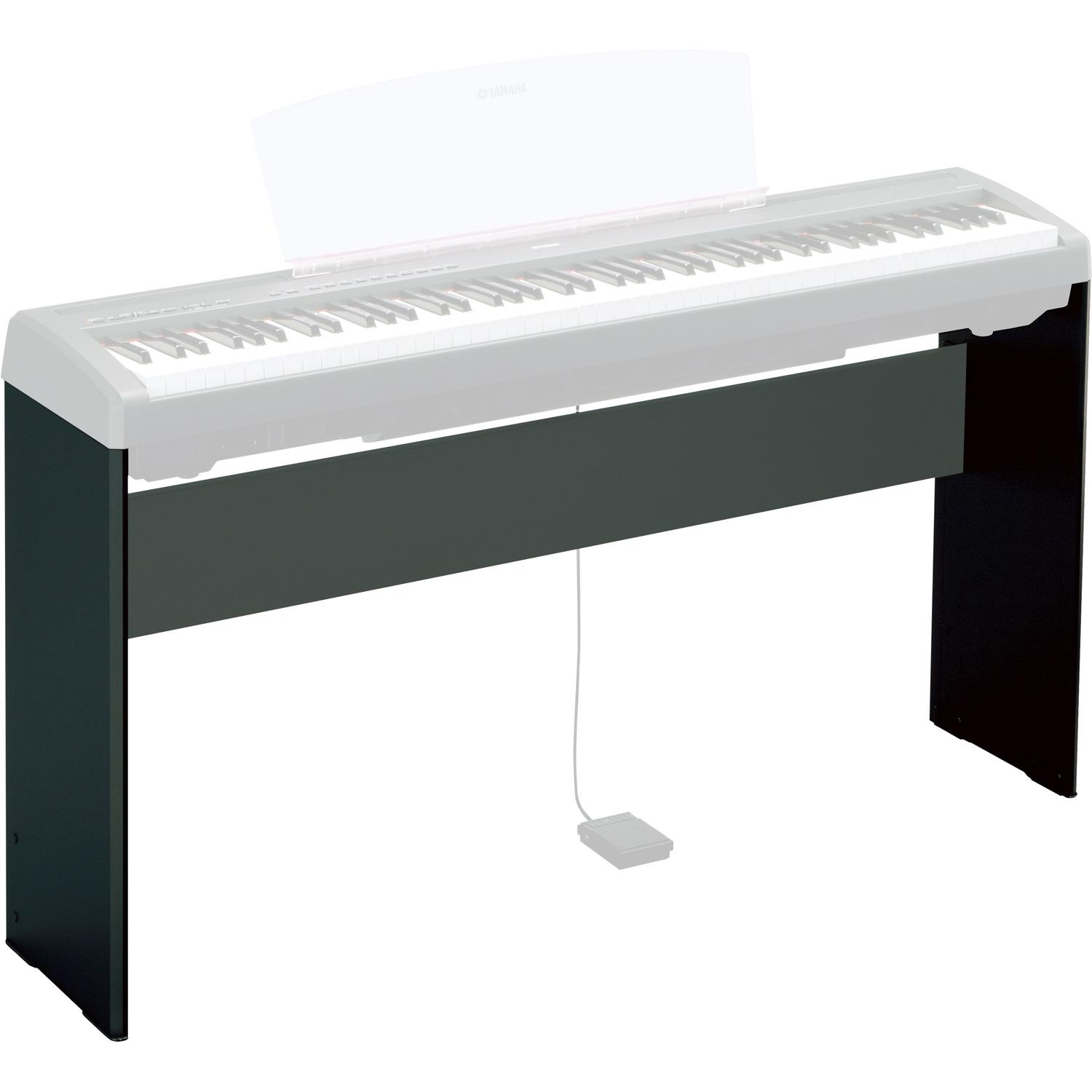 yamaha l85 digital piano stand black. Black Bedroom Furniture Sets. Home Design Ideas