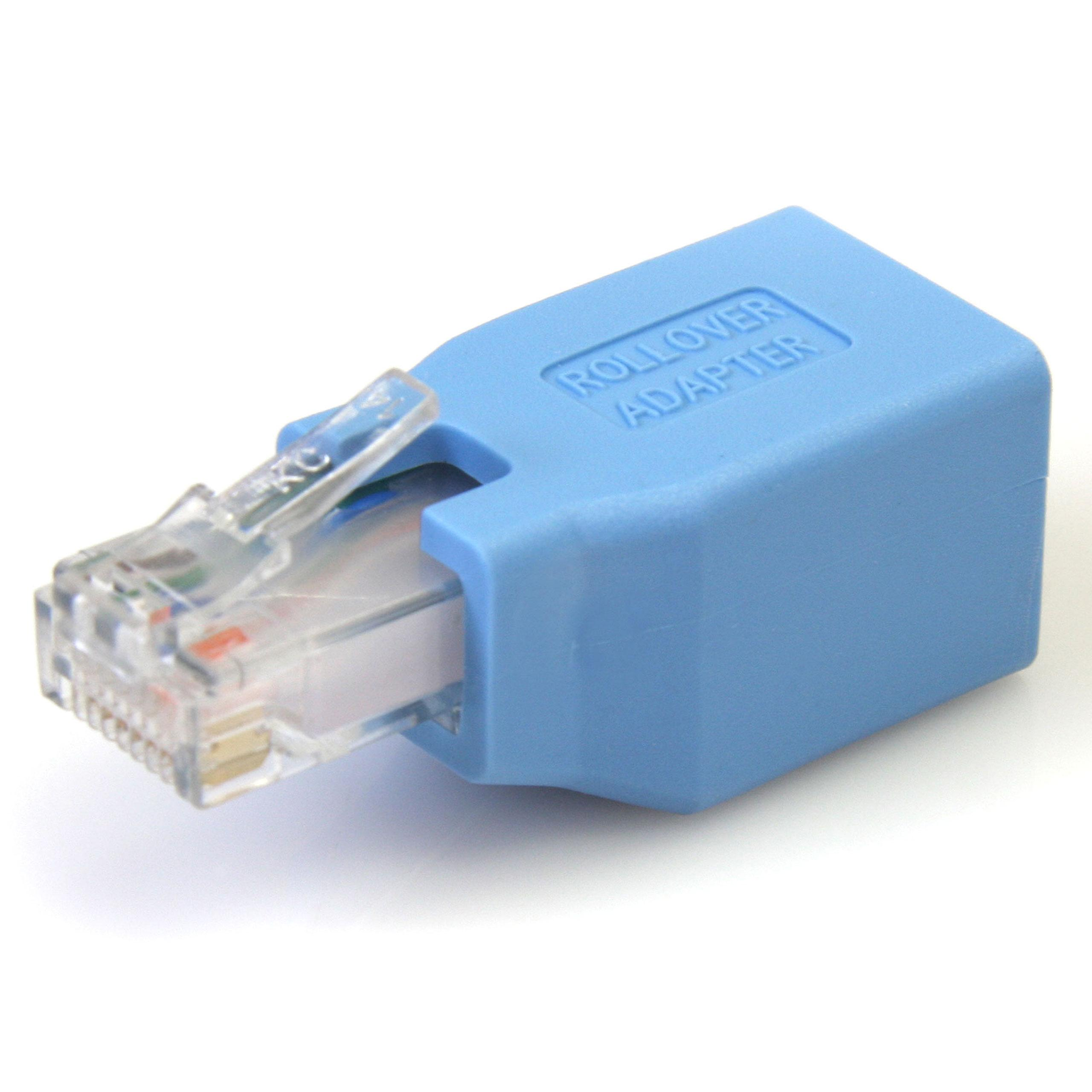 StarTech Cisco Console Rollover Adapter for RJ45: Amazon.co.uk ...