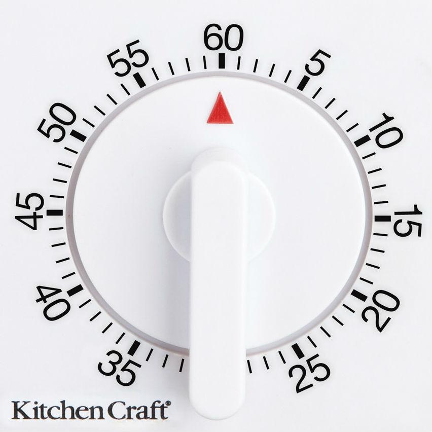 One Hour Kitchen Projects: KitchenCraft Wind-Up Mechanical 1-Hour Kitchen Timer