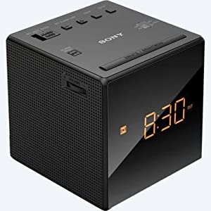 Sony, fm am clock radio, icf-ci