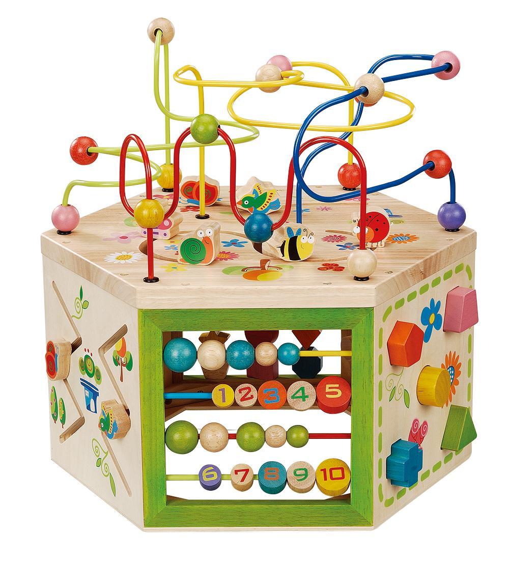 Everearth 7 In 1 Garden Activity Cube Amazon Co Uk Toys